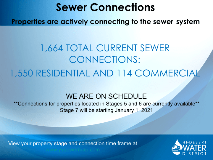 Sewer Connection Update Information (PNG)