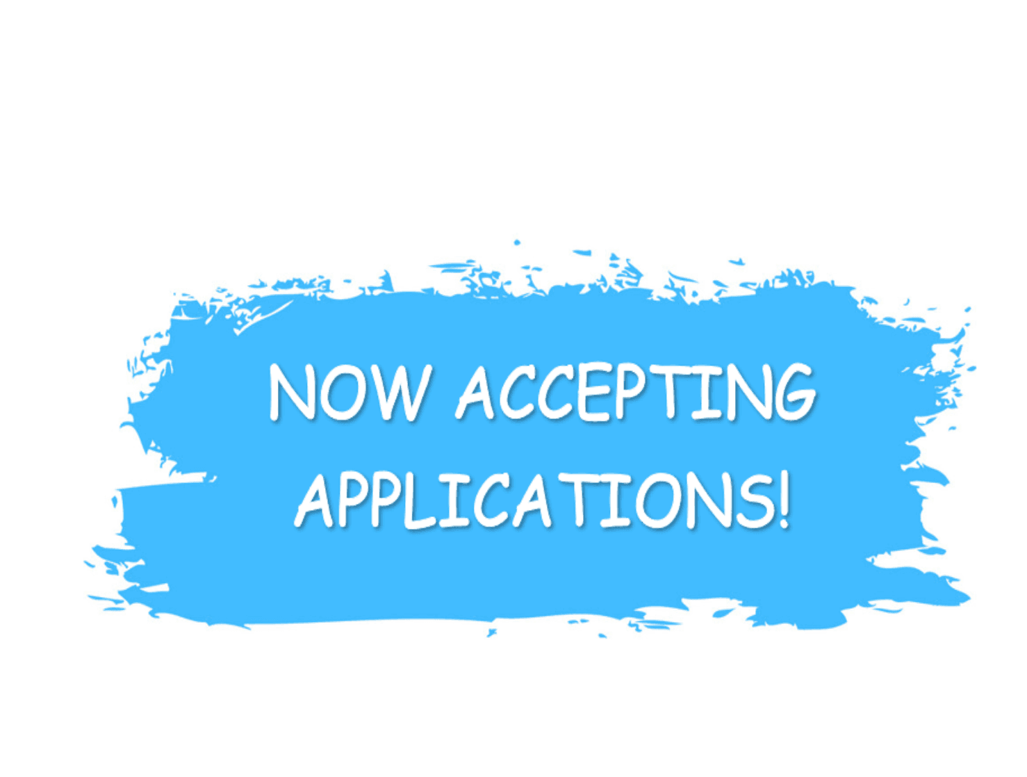 Accepting Applications Image (PNG)